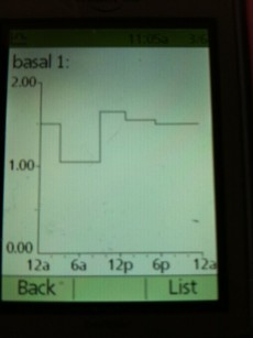 Insulin amount & Basal Presets for my OmniPod