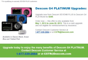 Would you spend an additional $400 to upgrade to the new #Dexcom G4? (Without insurance reimbursment!)