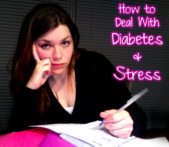 How to deal with the stress i am a type 1 diabetic - I am in stress ...
