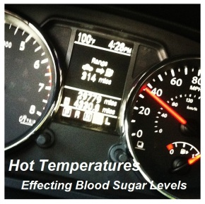 Hot Temperatures Effecting Blood Sugar Levels