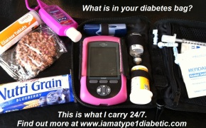 What is Inside Your Diabetes Bag