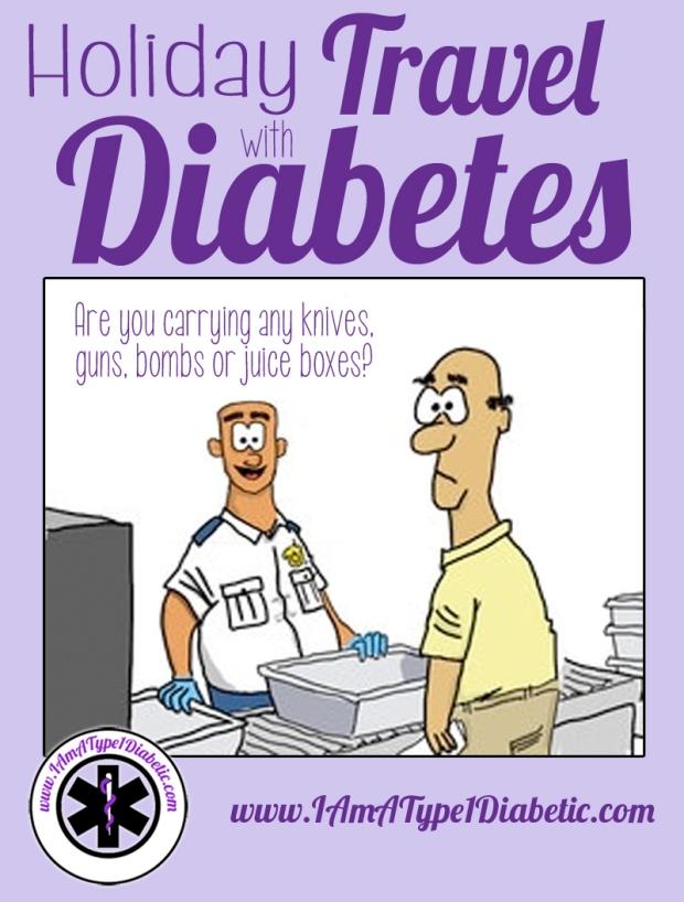 Holiday Travel with Diabetes | www.IAmAType1Diabetic.com