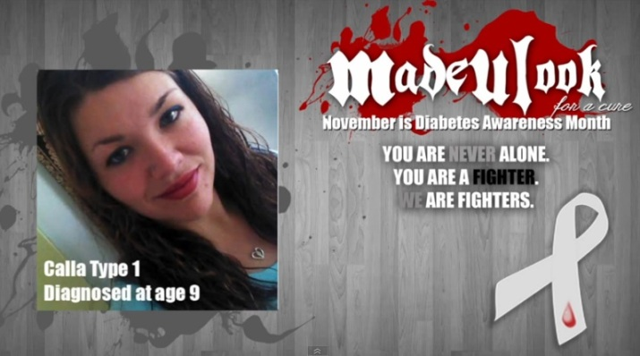 Raising Awareness in November for Diabetes | I am a Type 1 Diabetic | www.iamatype1diabetic.com