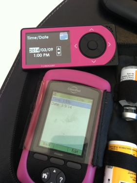 How to Change the time on OmniPod Insulin Pump and Dexcom CGM  | www.iamatype1diabetic.com