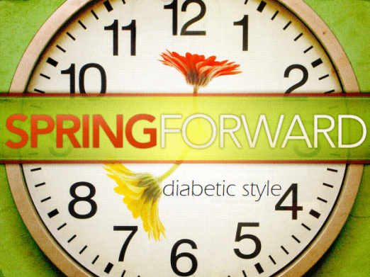 Spring Forward Diabetic Style | What devices do you need to change the time on? | www.iamatype1diabetic.com