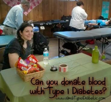 Can Type 1 Diabetics Donate Blood? | www.iamatype1diabetic.com