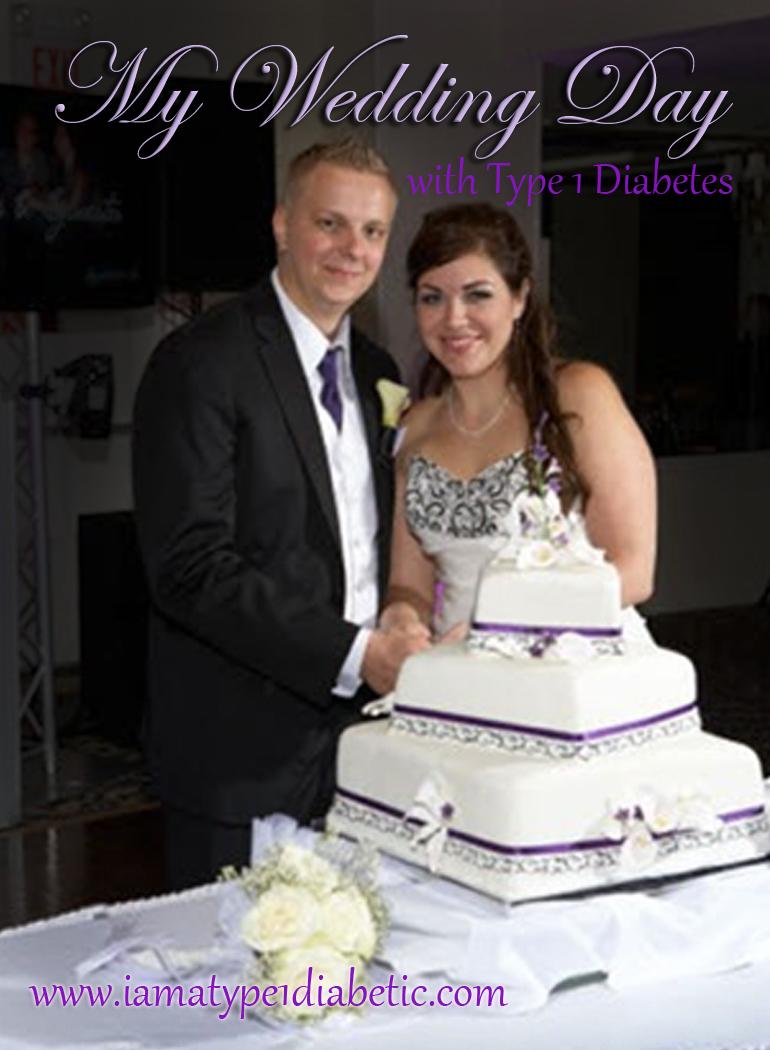 Wedding Day with Type 1 Diabetes | Sugar Free Wedding Cake | www.iamatype1diabetic.com