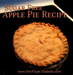 Sugar Free Apple Pie | www.iamatype1diabetic.com