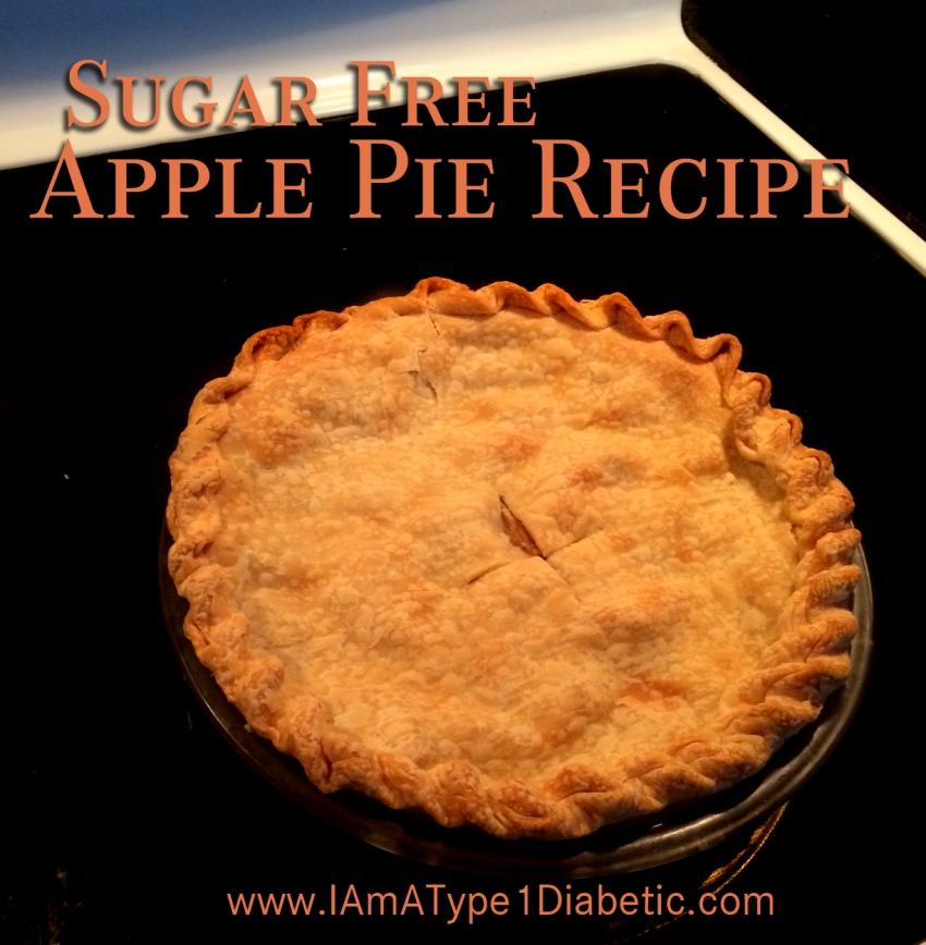 Sugar Free Apple Pie | www.iamatype1diabetic.com