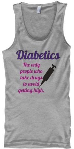 Diabetics: The Only People who Take Drugs to Avoid Getting High | www.iamatype1diabetic.com