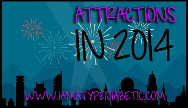 Attractions in 2014 | What have we learned about type 1 diabetes in 2014? | www.iamatype1diabetic.com