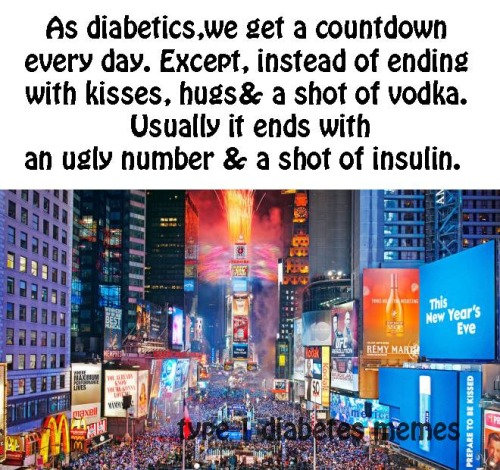 The New Diabetic Year | www.iamatype1diabetic.com