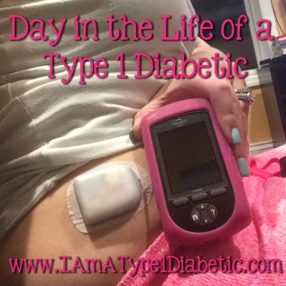 Day In the Life of a Type 1 Diabetic | www.iamatype1diabetic.com