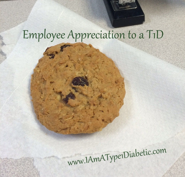 Employee Appreciation | www.iamatype1diabetic.com