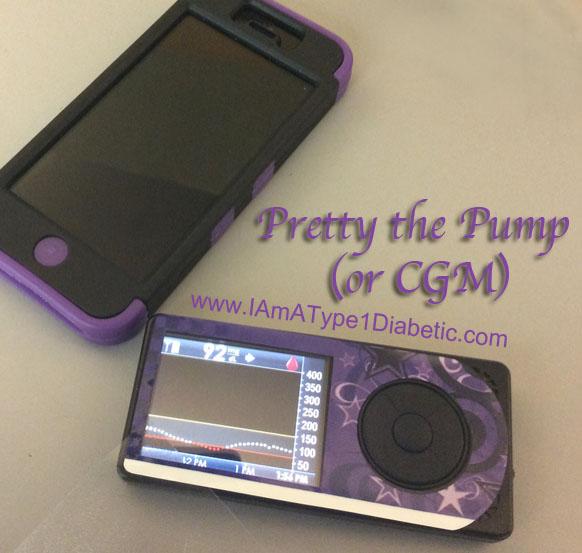 Pretty The Pump | Decorating Diabetes | www.iamatype1diabetic.com