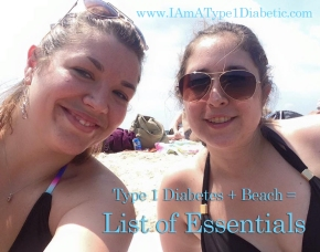 Beach Essentials for Living with Type 1 Diabetes