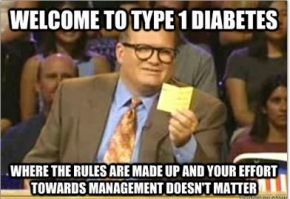 Rules are Made Up! | www.IAmAType1Diabetic.com