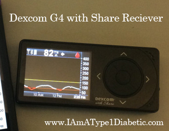 Glucose on Your Phone | FDA Approves Dexcom G5 Mobile Continuous Glucose Monitoring (CGM) System | www.IAmAType1Diabetic.com