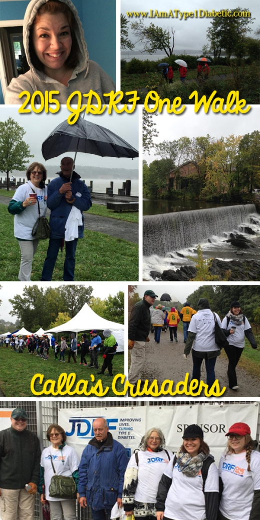 JDRF One Walk | Hudson Valley Chapter in Beacon, NY | Team Calla's Crusaders #JDRFOneWalk #BeaconNY #Type1Diabetes
