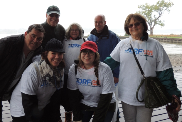 Calla's Crusaders | 2015 JDRF One Walk | Beacon, NY #JDRFOneWalk | www.IAmAType1Diabetic.com